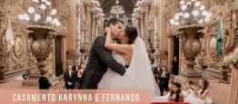 Oencontro de Karynna e Fernando era inevitáv...