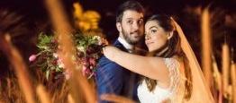 O casamento no , no Rio de Janeiro, estava .....
