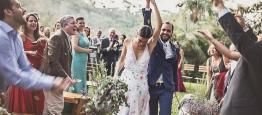 Marina e Willian tiveram um lindo casamento...