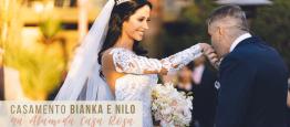 O casamento da Bianka e Nilo aconteceu como m...