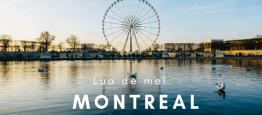 Lua de Mel no verão de Montreal, Canadá Nem...