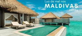 Lua de Mel nas Maldivas: 5 hotéis românticos...