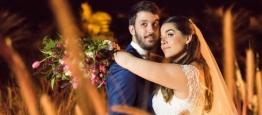 O casamento no Lajedo, no Rio de Janeiro, est...