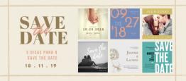O Save the date- em português,reserve a dat...