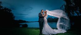Um casamento até o amanhecer: o casamento de...