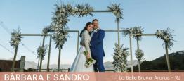 O casamento de Bárbara e Sandro foi na Pousad...