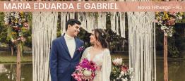 Omini wedding de Maria Eduarda e Gabriel foi...