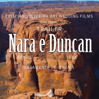 Destination Wedding - NARA E DUNCAN - Arizona e Las Vegas - USA