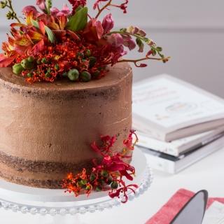 Semi Naked Cake de Chocolate