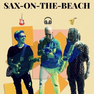 Sax On The Beach - Trio Live Sax + DJ + Guitarra