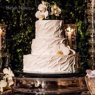Vintage cake - phalaenopsis