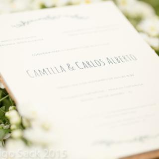 Convite Camilla & Beto
