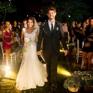 Enfim casados - cerimônia