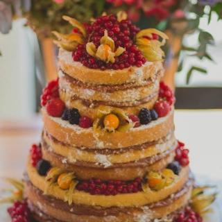 Naked cake - Frutas Silvestres