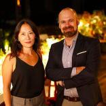 Fábio Borgatto e Telma Hayashi