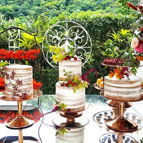 Trio de bolos Julia Nunes