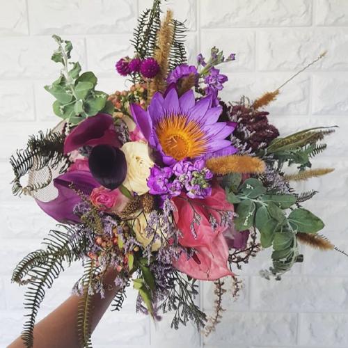 Buquê com maxi flores