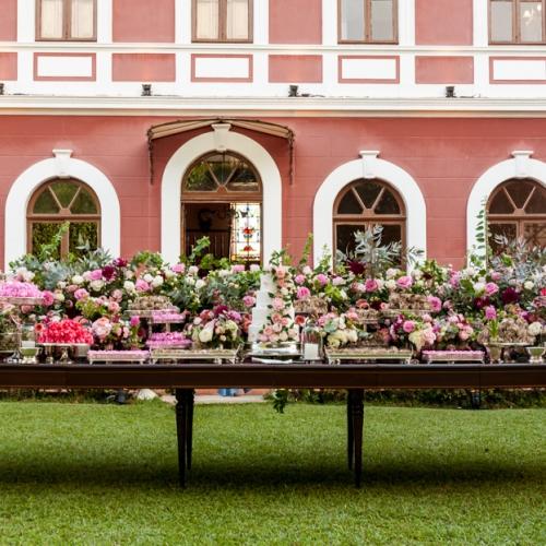 Decoração all pink