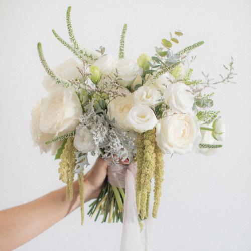 Buquê Branco Com que flor eu Vou