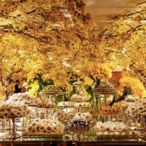 Decoração Amarela por Eugenia Guerrera Hargreaves