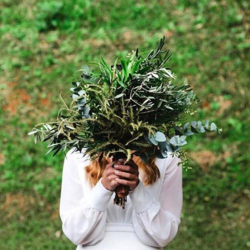 Buquê Verde/ greenery