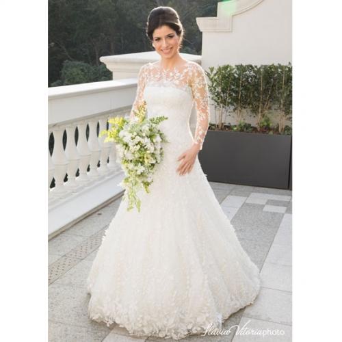 Vestido de noiva Paulo Dolce