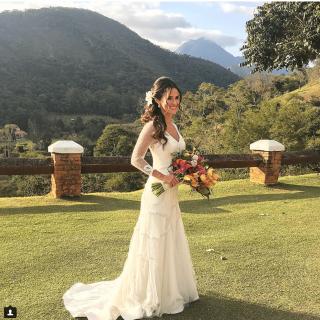 Vestido de noiva Maria Mendes
