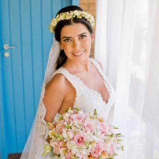 Beleza da noiva Alessandra Garcia