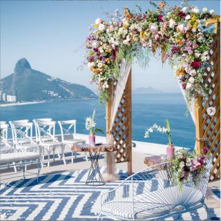 Decoração da Cerimônia por Renata Paraiso