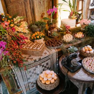Mesa de Doces Elopement Wedding