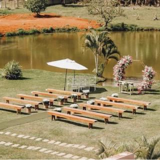Cerimônia ao ar livre por Fest Decor