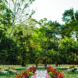 Cerimonia na serra