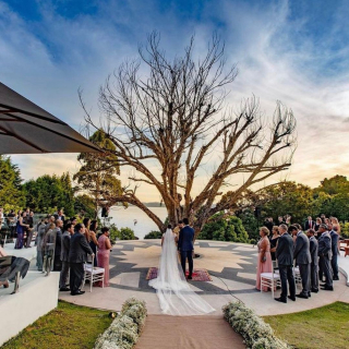 Cerimônia de casamento ao ar livre Núbia Monteiro