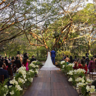Cerimônia de casamento por Rafaela Orlandini