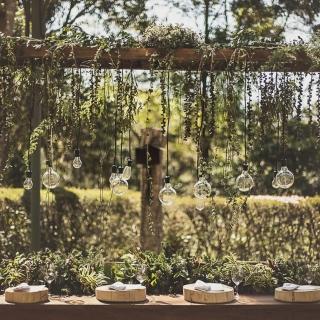 Mesa de Convidados greenery