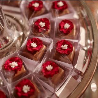 Chocolate de caramelo com flor de sal