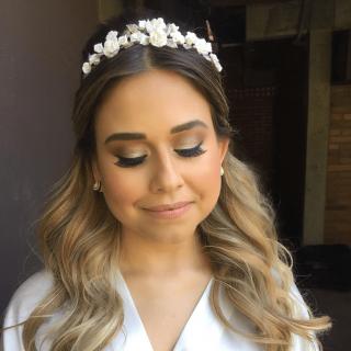 Beleza da noiva Lu Rech