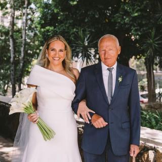 Fotografia pai da noiva por William Nihues