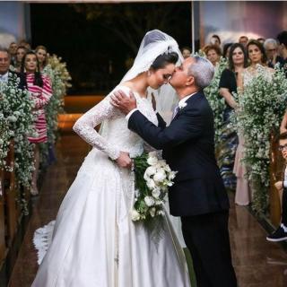 Fotografia pai da noiva por Anchell Fotografia