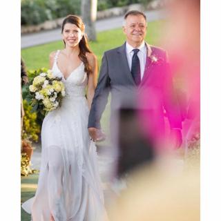 FOtografia pai da noiva por Rodrigo Sack