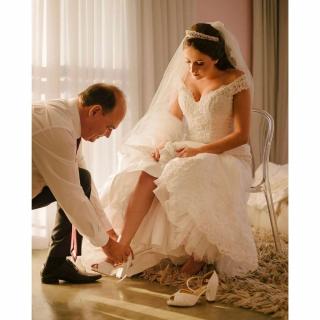 Fotografia pai da noiva por Cadeira Amarela
