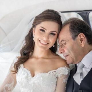 Fotografia pai da noiva por Ricardo Hara