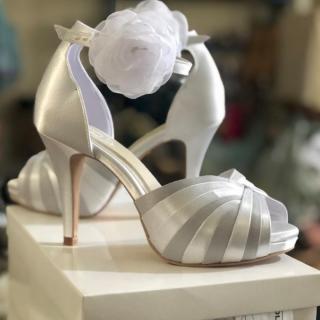Sapato 2 cores Josefa Bernardes