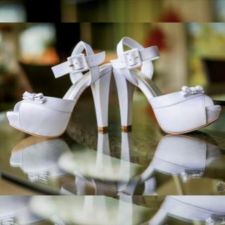 Sapato de noiva Josefa Bernardes