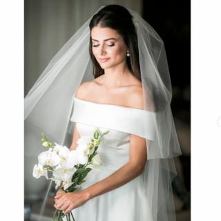 Vestido de Noiva por Wanda Borges