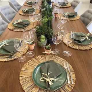 Decoração mesa posta por Laura Amaral