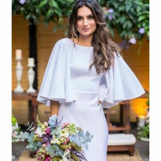 vestido de noiva liso Atelier Marie Lafayette