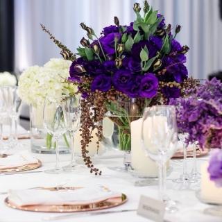 Arranjo mesa de convidados