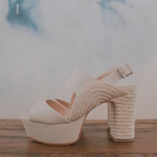Sapato de noiva boho chic
