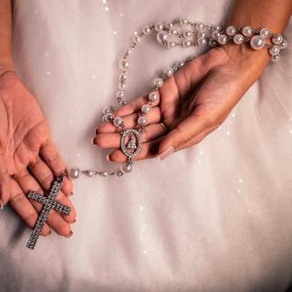 Terço de noiva por Senhora da Luz